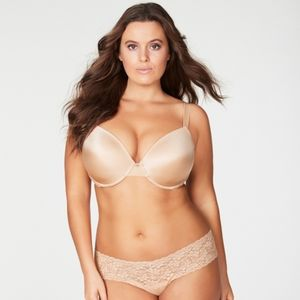 Frederick's of Hollywood Plus Size Push Up Bra
